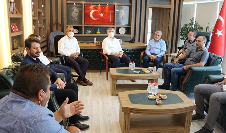 AK Parti Konya Milletvekili Tahir Akyürek Kulu'yu ziyaret etti