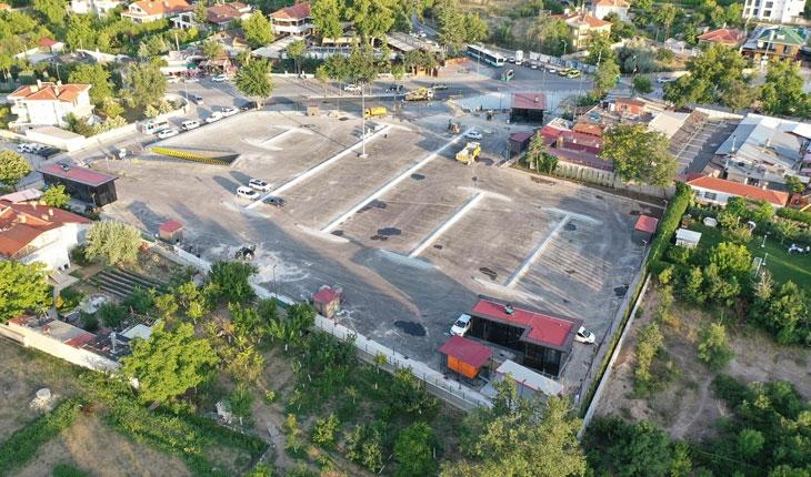 Meram Yer Altı Katlı Otoparkı hizmete açıldı