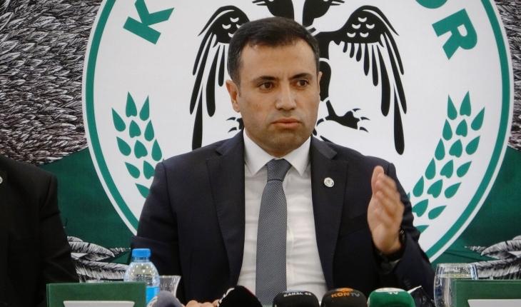 Konyaspor Başkanı Özgökçen 2021-2022 sezonu fikstürünü değerlendirdi