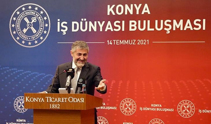 Hazine ve Maliye Bakan Yardımcısı Nebati, Konya'da konuştu