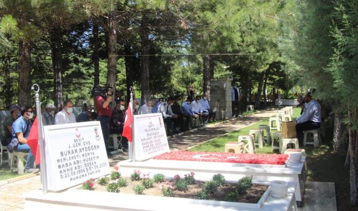 Seydişehir'de 15 Temmuz şehitleri anıldı