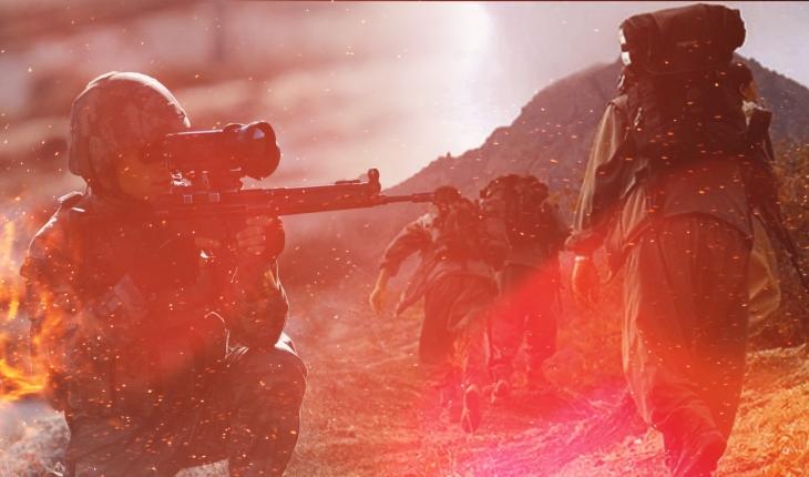 Eren-15 operasyonunda 3 terörist etkisiz hale getirildi