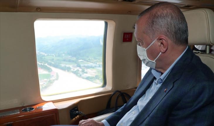 Cumhurbaşkanı Erdoğan, Artvin ve Rize'de yürütülen çalışmalarla ilgili Bakan Karaismailoğlu'ndan bilgi aldı