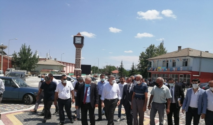 Yalıhüyük'te AK Parti Danışma Meclisi Toplantısı yapıldı
