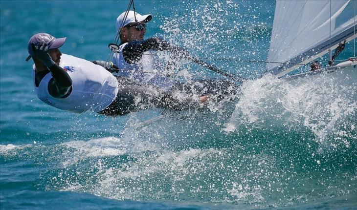 2020 Tokyo Olimpiyat Oyunları ilk gün yelken yarışlarında Alican Kaynar zirvede yer aldı