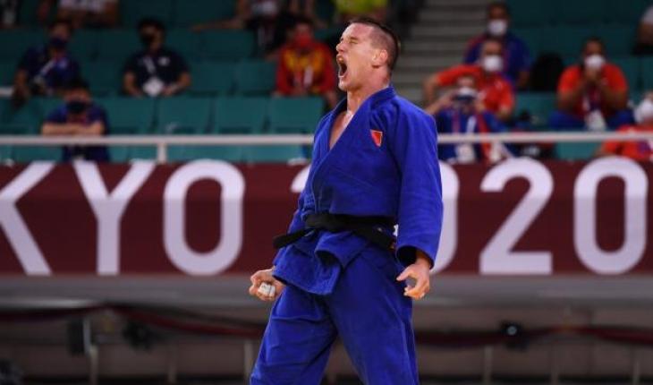 Milli judocu Mihael Zgank yarı finale yükseldi