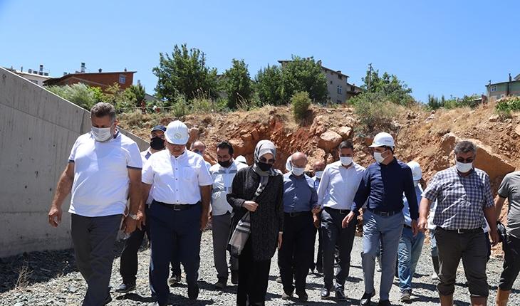 Konya'nın asırlık projeleri yerinde incelendi
