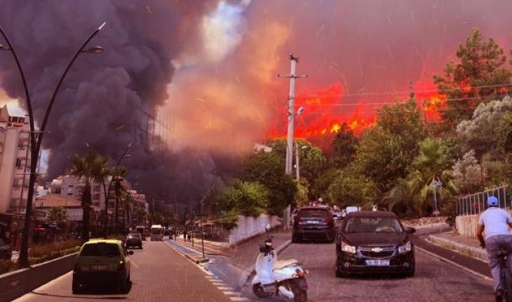 Yangınlarda terör izi araştırılıyor