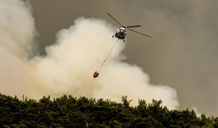 10 gündür sürüyordu: Antalya yangınları kontrol altına alındı