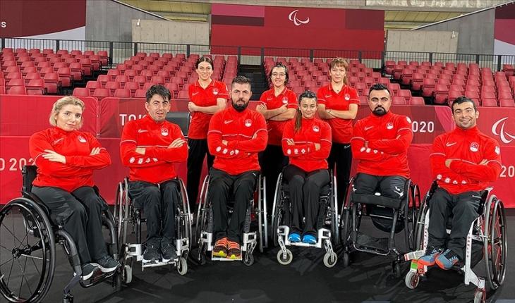 Paralimpik masa tenisçiler Tokyo'da Türkiye'yi sevindirmek istiyor