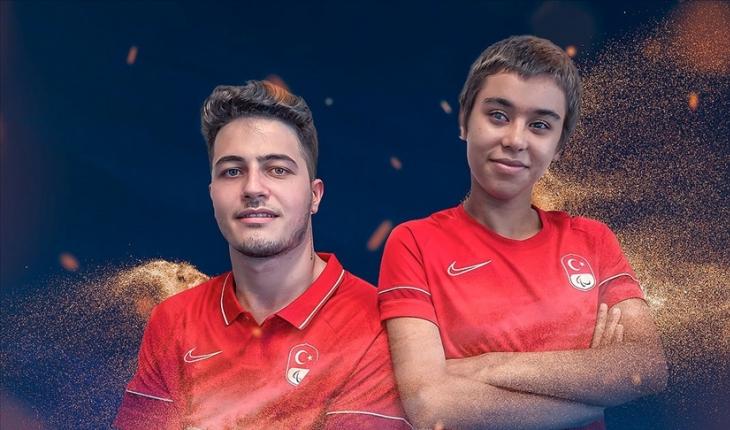 2020 Tokyo Paralimpik Oyunları'nın açılış töreninde Türk bayrağını Havva Elmalı İle Mücahit Günaydın taşıyacak