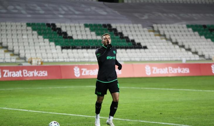 Erdon Daci Konyaspor'dan ayrıldı