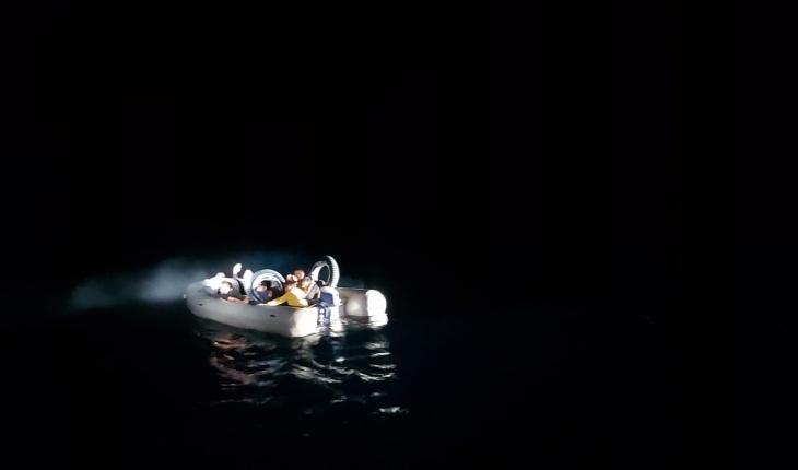 Muğla açıklarında 19 düzensiz göçmen kurtarıldı