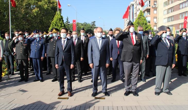 Konya'da 19 Eylül Gaziler Günü kutlandı