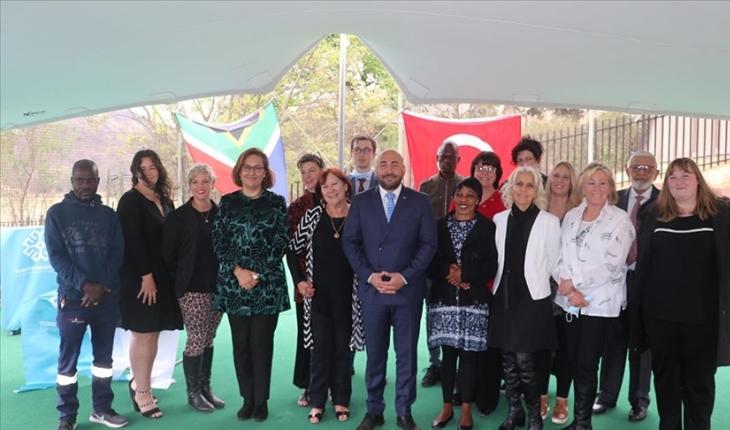 Maarif Vakfının Güney Afrika'daki ilk eğitim kurumu açıldı