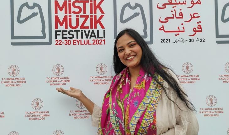 18. Uluslararası Konya Mistik Müzik Festivali için özel beste yaptı