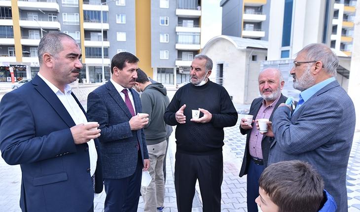 Karatay Belediye Başkanı Hasan Kılca vatandaşla buluştu