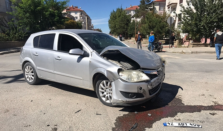 Konya'da trafik kazasında 5 kişi yaralandı