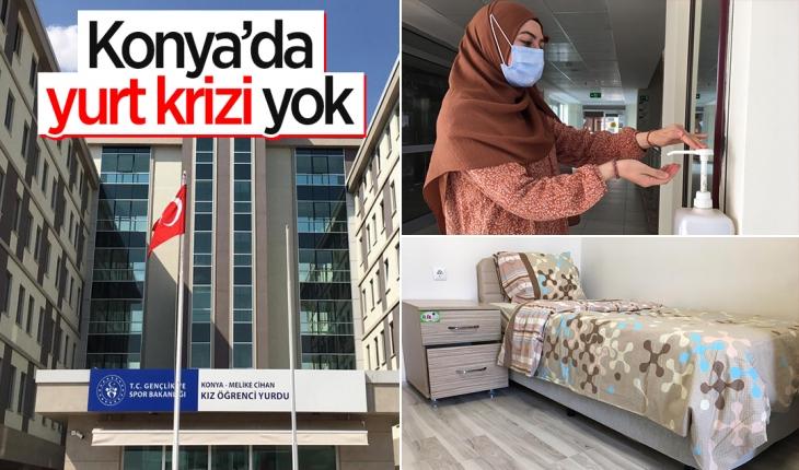 Konya'da yurt krizi yok