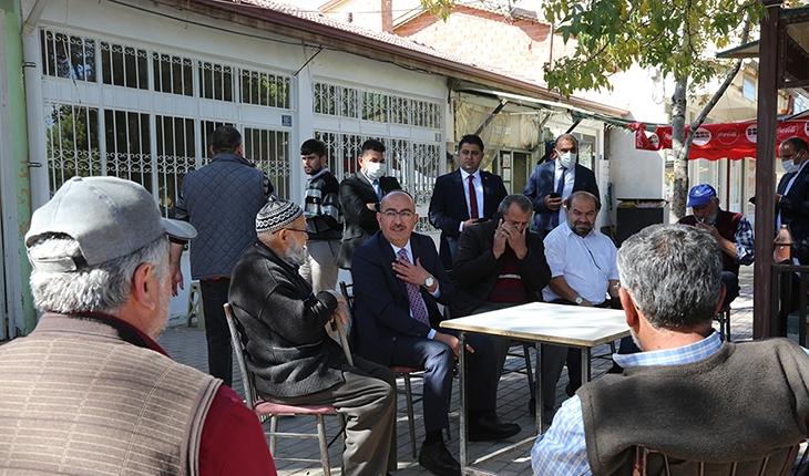 Başkan Kavuş Kaşınhanı Mahallesi'nde vatandaşlarla buluştu