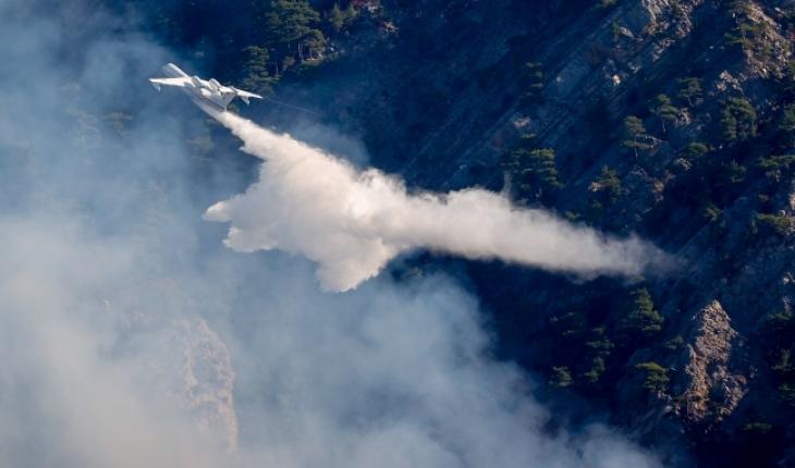 Antalya'daki yangın güçlükle kontrol altına alındı